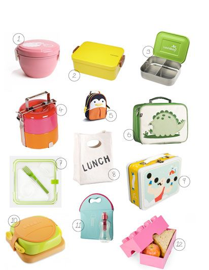 send your little one to lunch in style with these 12 adorable lunch boxes, just in time for back to school!