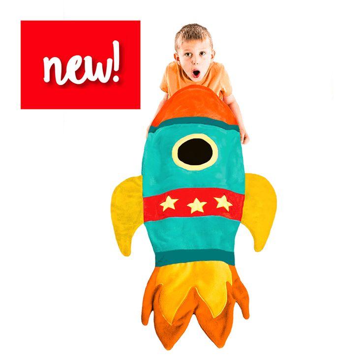 Kids Rocket Blanket