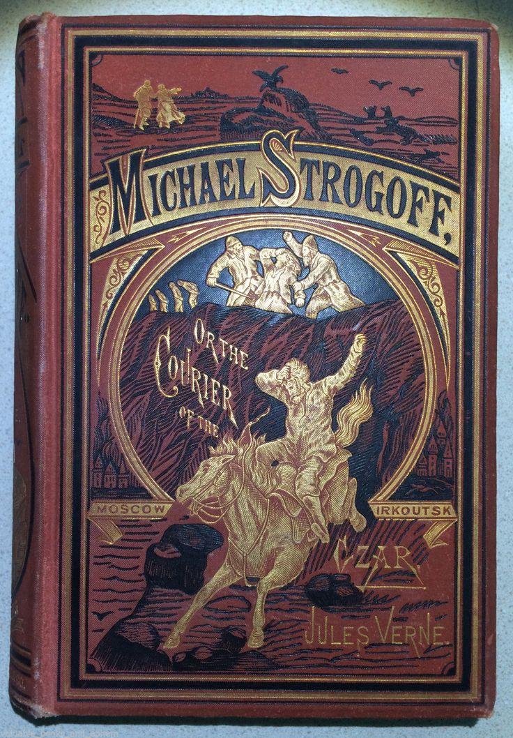 1877 jules verne first edition michael strogoff rare. Black Bedroom Furniture Sets. Home Design Ideas
