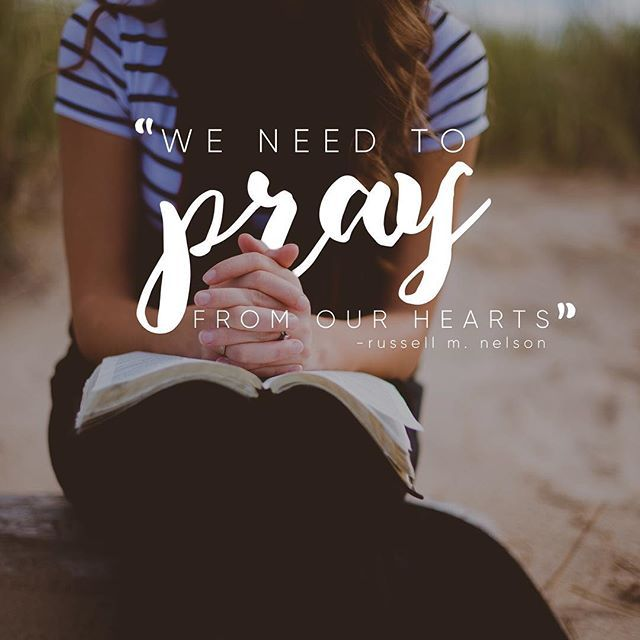 Did you think to pray? #lds