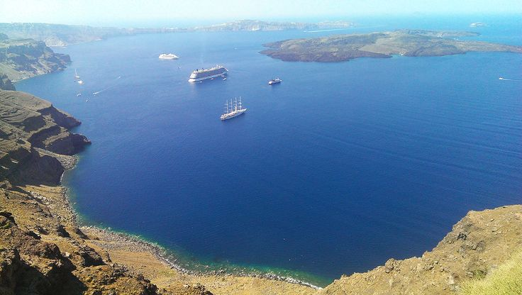 Absolutely gorgeous weather at Iconic Santorini...