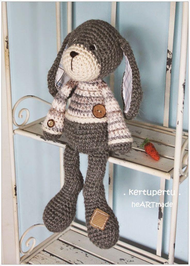 kertupertu: Big Bunny / Grosser Hase | 41 cm