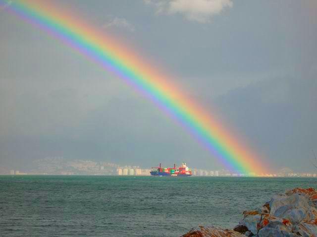 Rainbow in İzmir