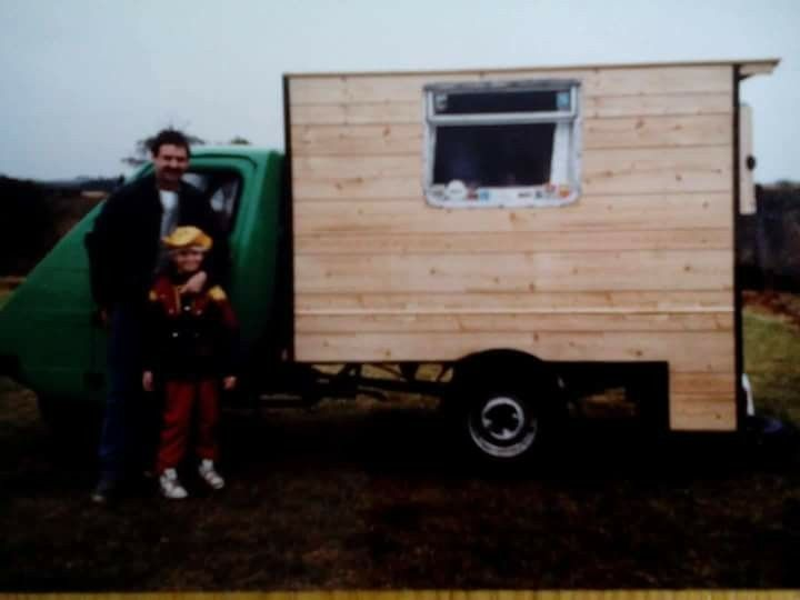 Reliant Ant TW9 homemade Camper