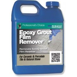 miracle sealants epoxy grout and film remover quart stone care pinterest film epoxy grout. Black Bedroom Furniture Sets. Home Design Ideas