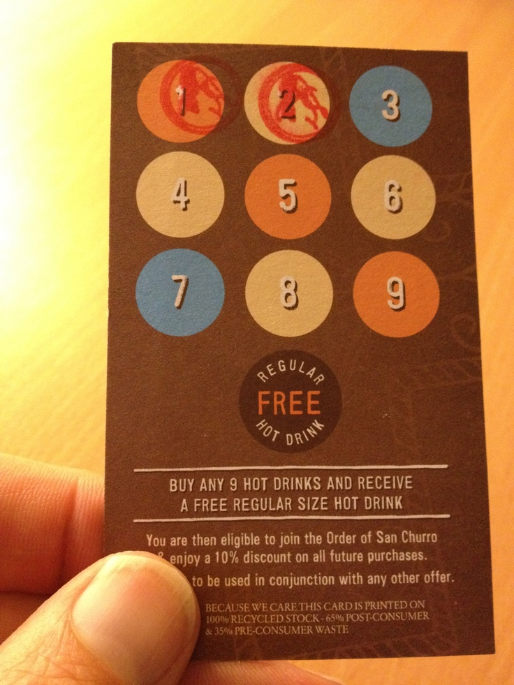 23 best Cool Paper Loyalty Cards images on Pinterest | Loyalty cards ...