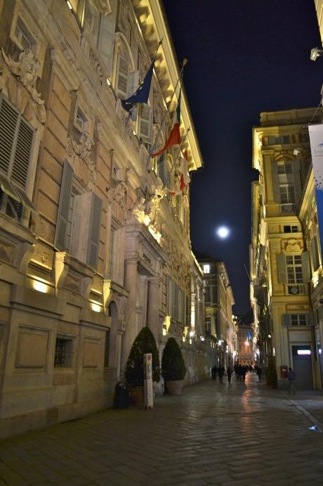 "Genova and the amazing Via Garibaldi ""UNESCO World Heritage"""