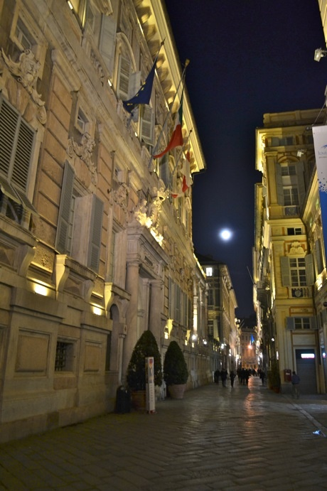 "Genova and the amazing Via Garibaldi ""UNESCO World Heritage"""