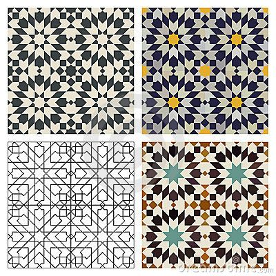 These tiles for the kitchen floor or for the sides of a kitchen counter