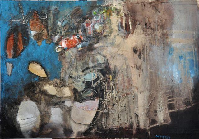 toiles / artwork 2009 - www.louluneau.com