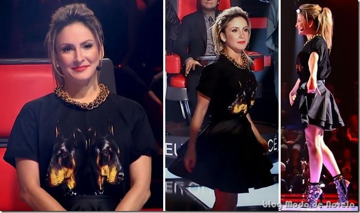 moda do programa the voice brasil - claudia leitte dia 24 e 31 de outubro de 2013