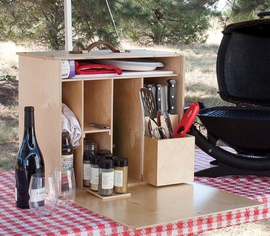 Magnetic My Camp Kitchen Outdoorsman With Small Glass
