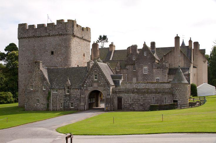Drum Castle, Drumoak, Aberdeen & Grampian