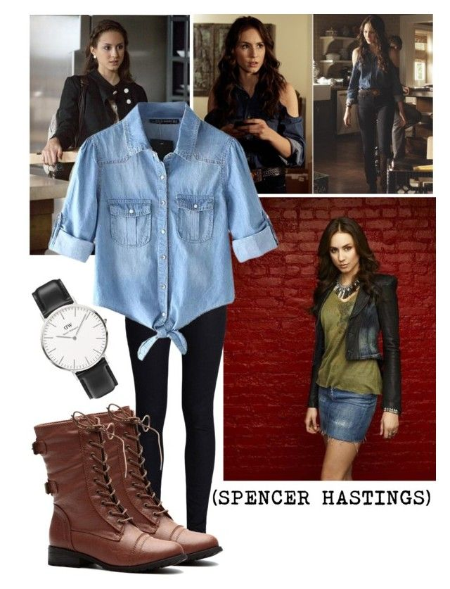 """""""Spencer Hastings Outfit"""" by flashinglightsinmymind ❤ liked on Polyvore"""