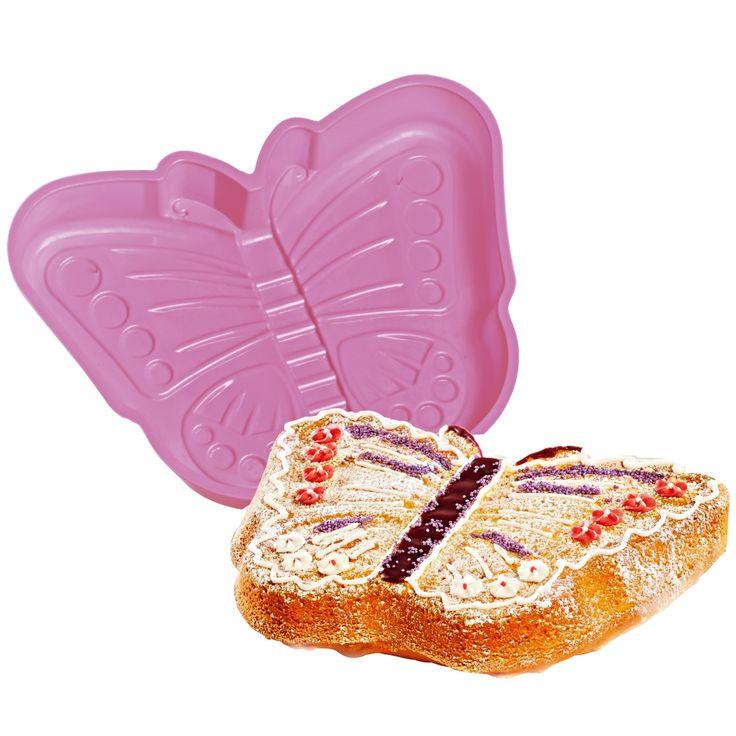 Original le gâteau en forme de papillon