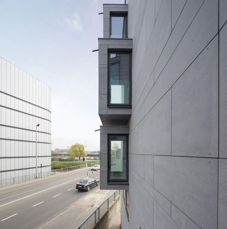 Residences Aalst Belgium by Equitone