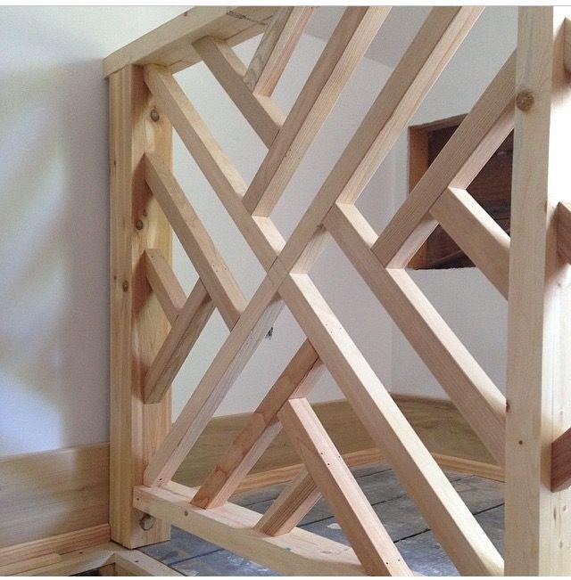 Fretwork Railing Baby Gates Wood Dog Banisters Home