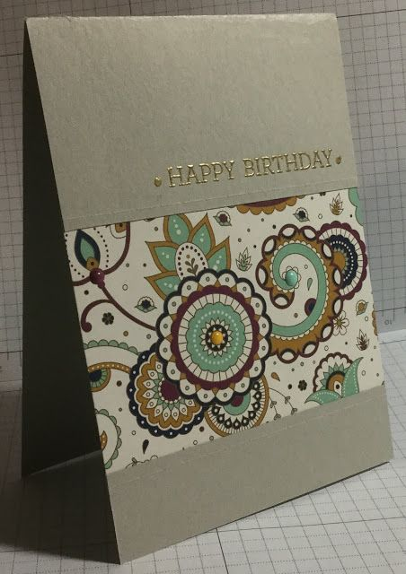 Paisleys & Posies stamp set by Stampin' Up!