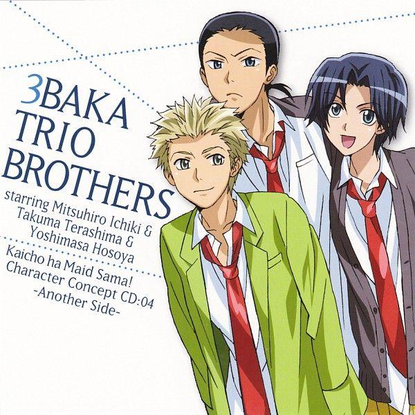Idiot Trio  Kaichou wa Maid-sama!
