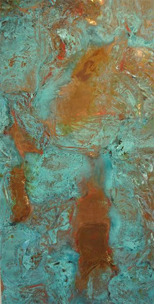 I want to do a verdigris patina on the outside of my claw foot tub.