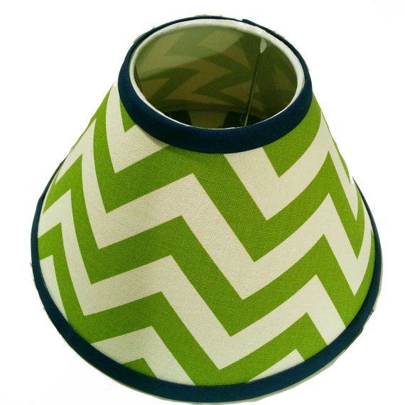 Chevron Lamp Shade 4 x 11 x 7 in your choice of by debbieshine, $27.99