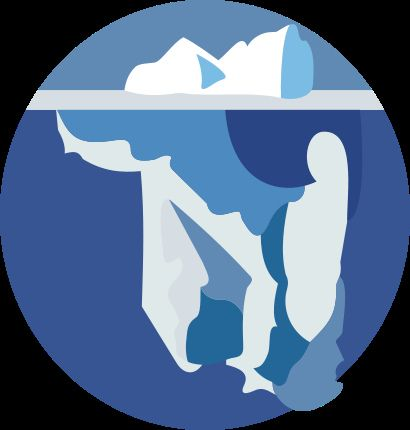 Glacier logo 9 by zmmongan, via Flickr