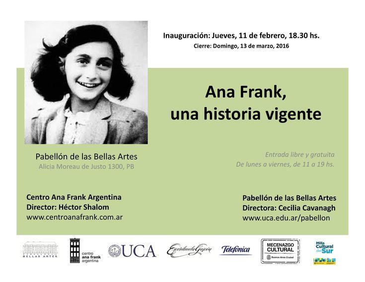 Ana Frank, una historia vigente | LITERARIAS | Por Gabriela Mariel Arias