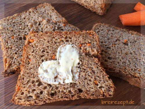 Brot ohne Salz für Baby, Kleinkind und alle, die sich bewusst und gesund ernähren wollen. Das Brot-Rezept mit Möhren, Dinkel und Haferflocken eignet sich auch für den Thermomix und schmeckt der ganzen Familie: http://www.breirezept.de/rezept_brot_ohne_salz.html