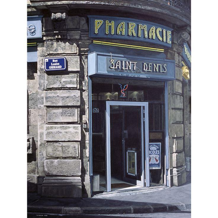 Saint Denis - by David Finnigan - oil on linen
