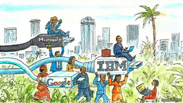 Information technology in Africa: The next frontier | The Economist