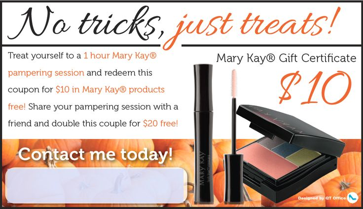 Mary Kay® Halloween Coupons http://www.blog.qtoffice.com/mary-kay-halloween-coupons/