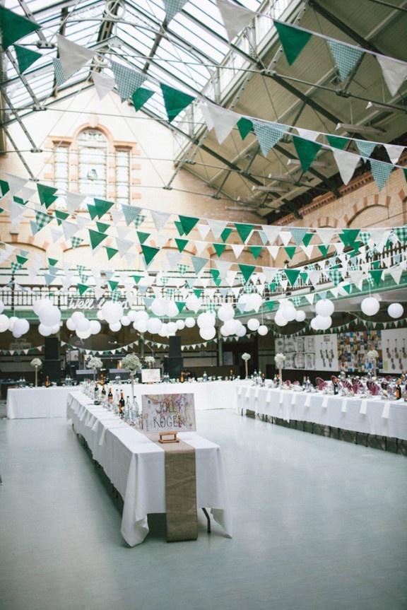 D coration de mariage vert meraude for Decoration 5 ans de mariage