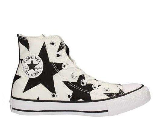 Sneaker Converse All Star 156812c ctas hi white black white summer 2017