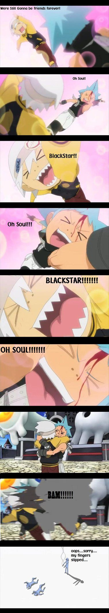 Soul and Blackstar Comic by PockyGurl14.deviantart.com on @DeviantArt