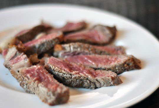 How To Cook Perfect Steak in the Oven • This method is adapted slightly from Alton Brown's Pan-Seared Rib Eye recipe.