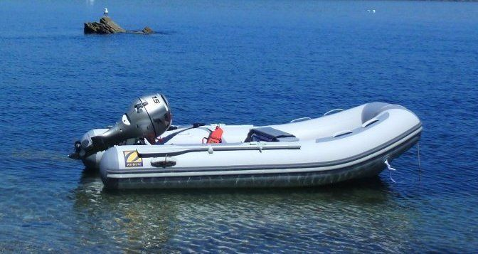 Zodiac Cadet 3.4m Inflatable RIB with 15hp Honda Outboard