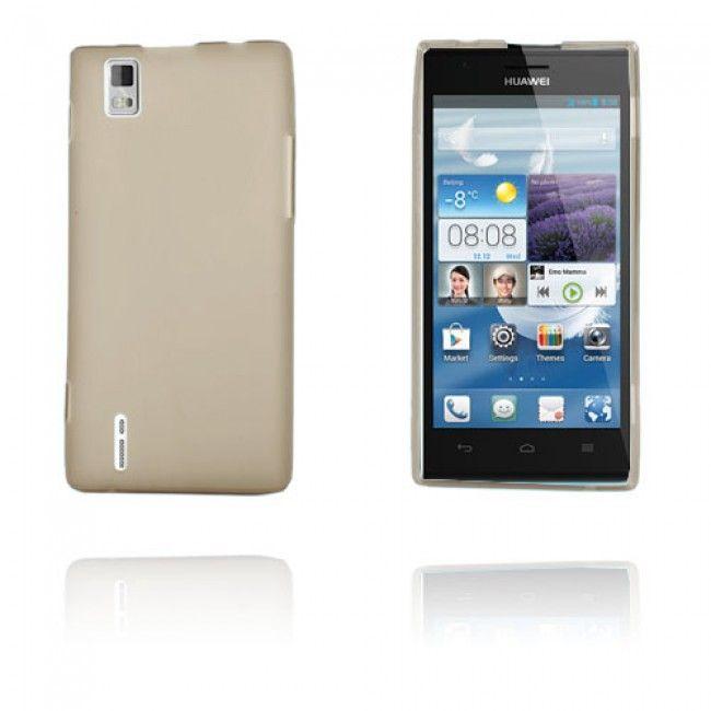 GelCase (Harmaa) Huawei Ascend P2 Suojakuori - http://lux-case.fi/gelcase-harmaa-huawei-ascend-p2-suojakuori.html