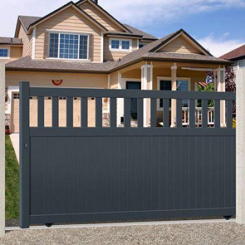 les 25 meilleures id es de la cat gorie portail aluminium coulissant sur pinterest portail. Black Bedroom Furniture Sets. Home Design Ideas