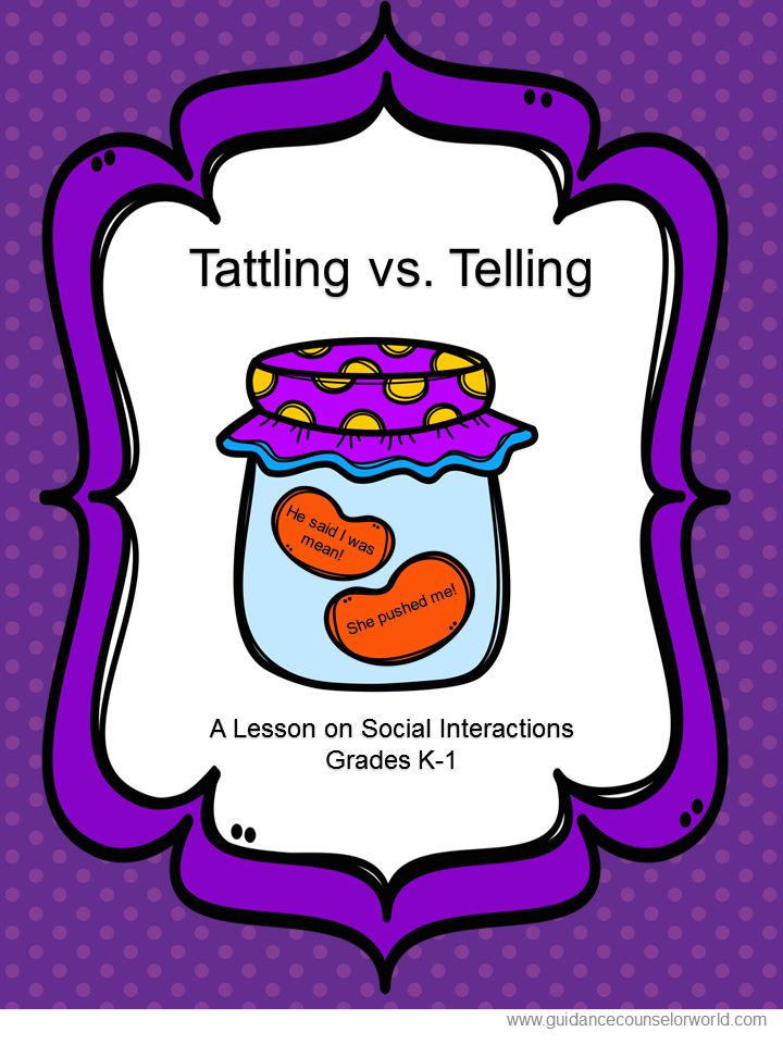 60 Tattling Vs Reporting Ideas School Counseling Tattling Vs Reporting School Counselor
