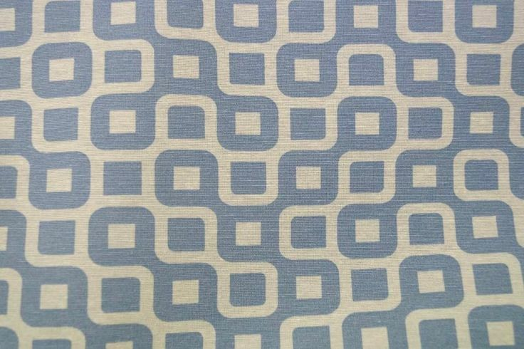 NB 1229-003 Interieurstof fantasie blauw
