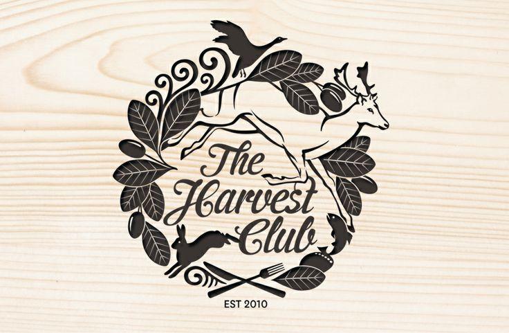 The Harvest Club brand identity