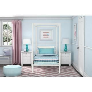 DHP Modern White Metal Twin Canopy Bed   18679991   Overstock com Shopping    Great. Best 25  Twin canopy bed ideas on Pinterest   Bed with canopy