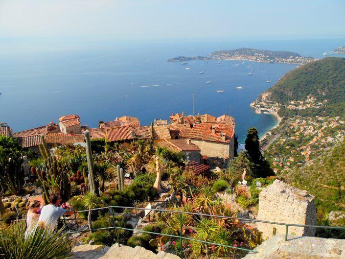 Bir Orta Çağ Köyü Eze – Cote D'Azur Fransa
