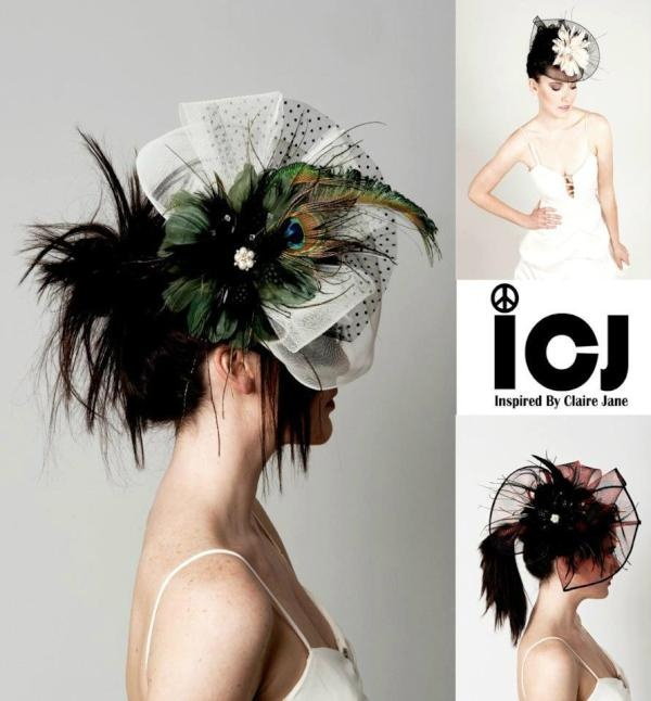 Twitter / inspiredbyCJ: Inspired By Claire Jane #I: Peacock Feathers, Feather Hairpiece, Wedding Ideas, Designs, Hair Pieces, Hairs, Things Peacock, Hair Fascinators, Saskia S Fascinators