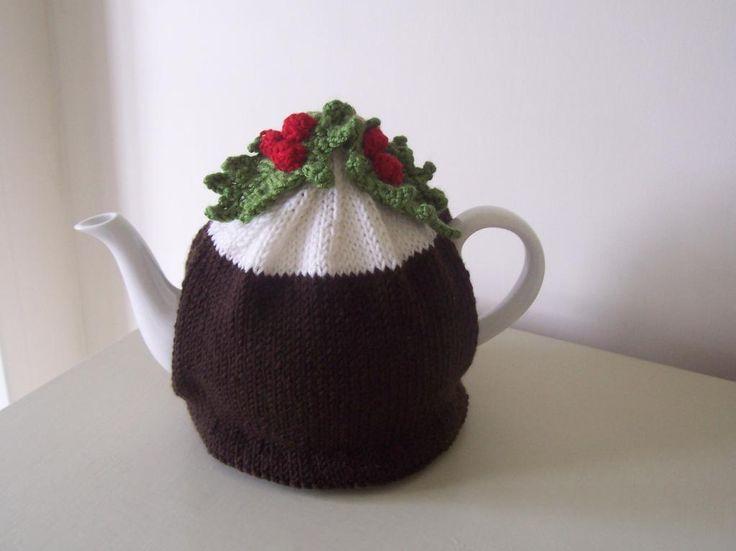 """Christmas Pudding"" Tea Cosy via Craftsy"