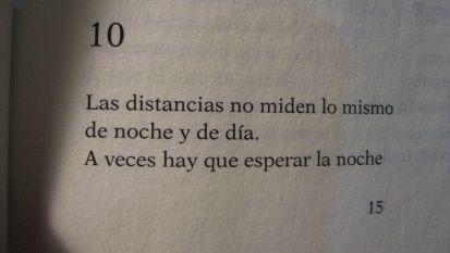 Las distancias, Roberto Juarroz