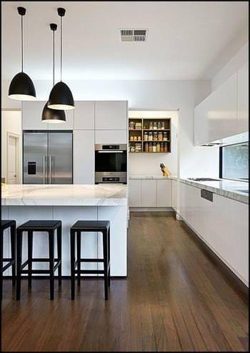 Décoration de Cuisine Noir et Blanc Deco de cuisine Pinterest
