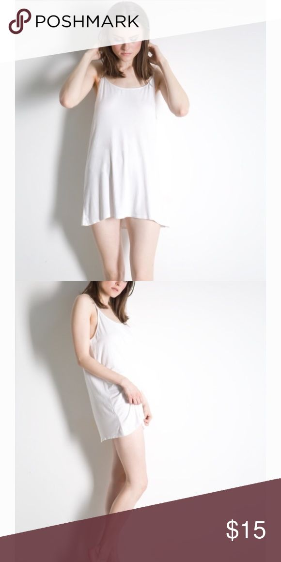 Tee Tank Basic Oversized Tank Top Rayon Llaces Tops Tank Tops