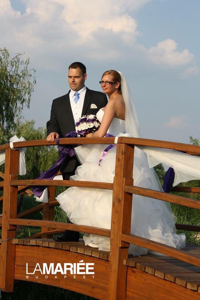 Belia esküvői ruha - Pronovias 2015 - Ágnes menyasszonyunk http://lamariee.hu/eskuvoi-ruha/pronovias/belia