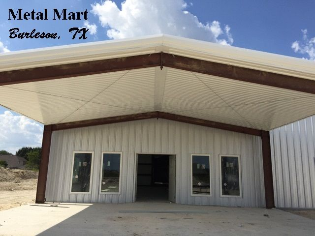 Metal Mart Supplies Material For Buildings And Shops In 2020 Metal Mart Steel Buildings Metal Roof